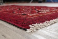 Geometric Red Balouch Persian Area Rug 3x6 image 6