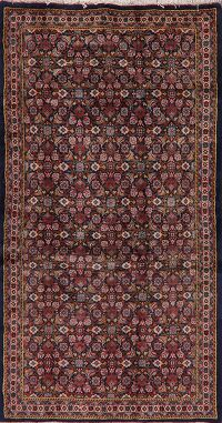 All-Over Vintage Tabriz Persian Area Rug 4x7