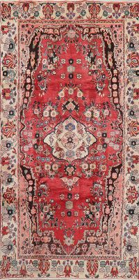 Vintage Floral Red Lilian Persian Area Rug 5x9