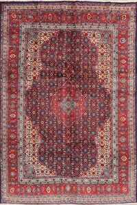 Geometric Mahal Persian Area Rug 7x10