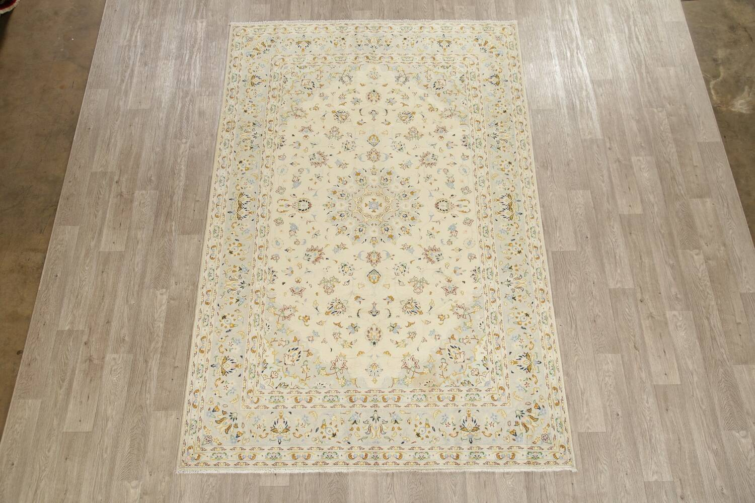 Floral Kashan Persian Area Rug 6x10 image 2
