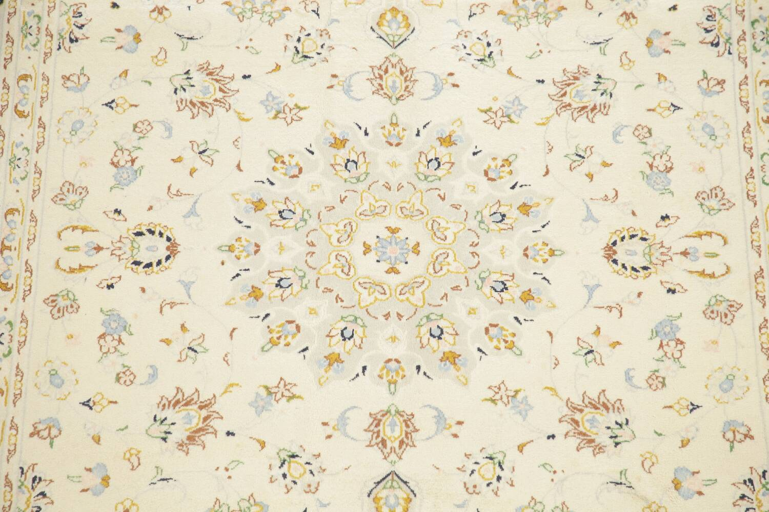 Floral Kashan Persian Area Rug 6x10 image 4