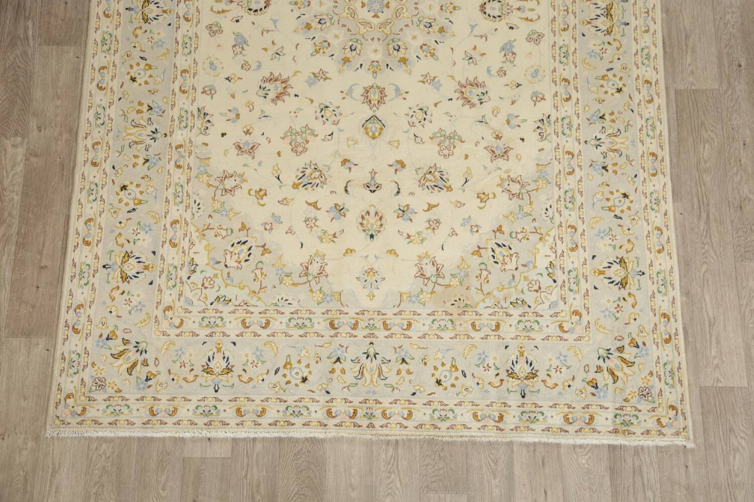 Floral Kashan Persian Area Rug 6x10 image 8