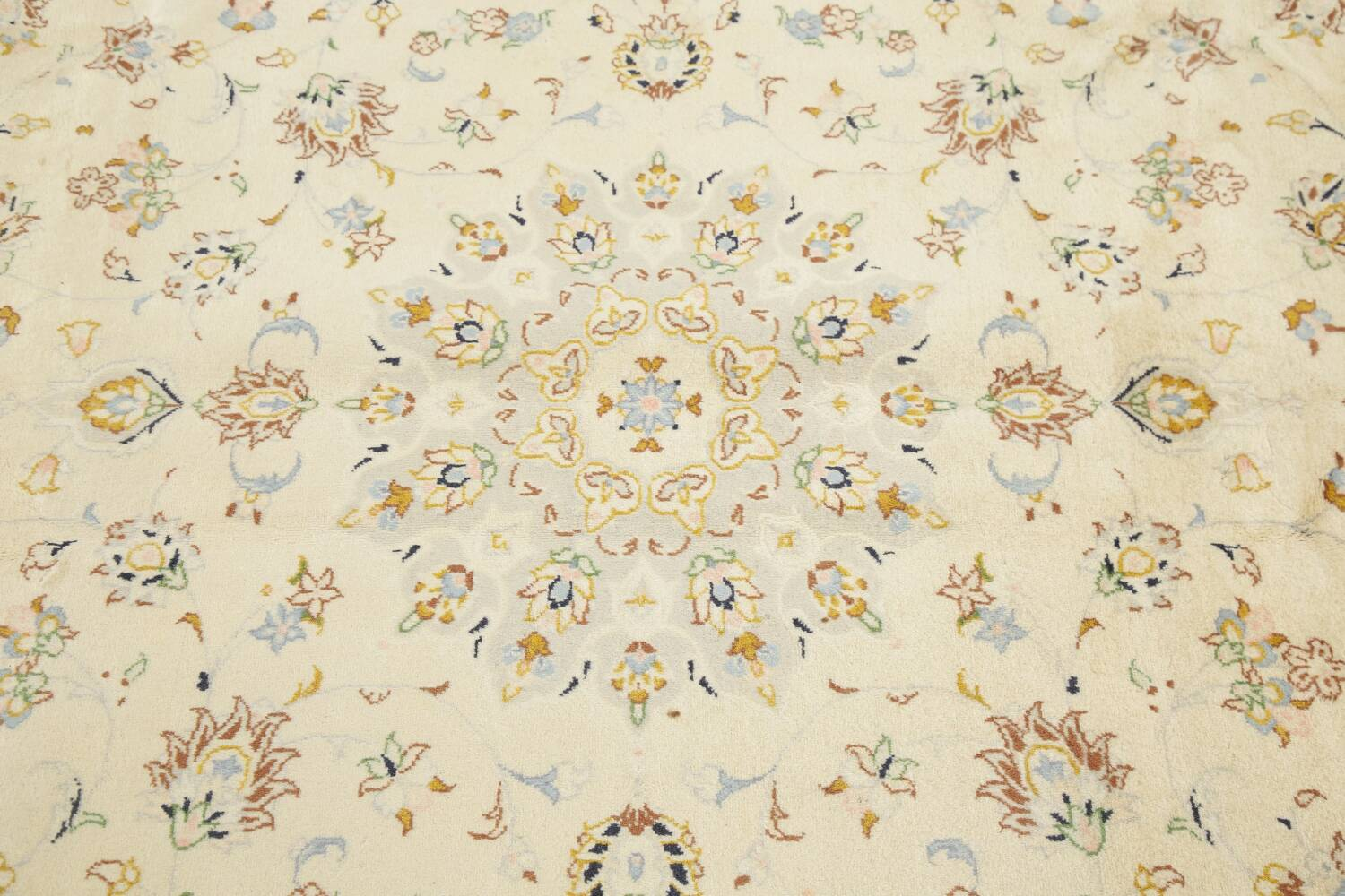 Floral Kashan Persian Area Rug 6x10 image 12