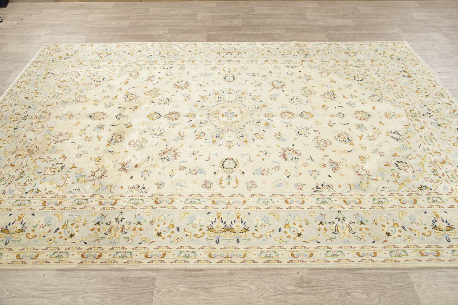 Floral Kashan Persian Area Rug 6x10 image 16