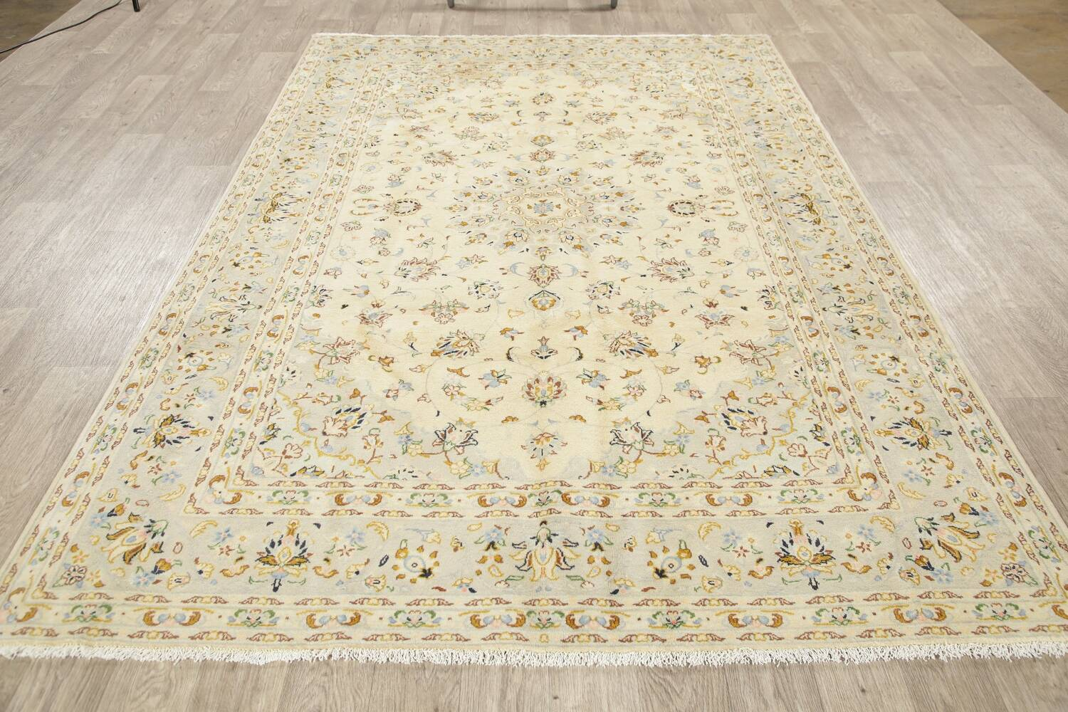 Floral Kashan Persian Area Rug 6x10 image 17