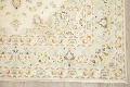Floral Kashan Persian Area Rug 6x10 image 5