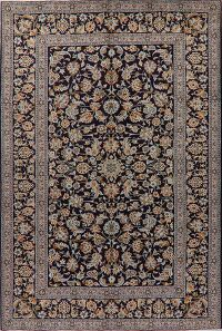 All-Over Floral Kashan Persian Area Rug 7x10