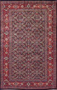 All-Over Geometric Mahal Persian Area Rug 7x10