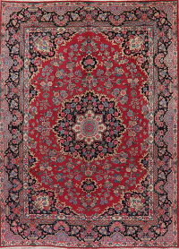 Floral Red Mood Persian Area Rug 8x11