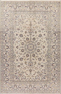 Traditional Floral Kashan Persian Area Rug 6x10