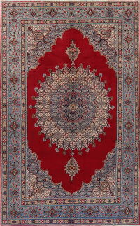 Vintage Red Mood Persian Area Rug 7x12