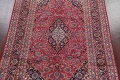 Floral Red Mashad Persian Area Rug 6x10 image 3