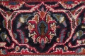 Floral Red Mashad Persian Area Rug 6x10 image 9