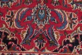 Floral Red Mashad Persian Area Rug 6x10 image 10