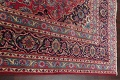 Floral Red Mashad Persian Area Rug 6x10 image 14