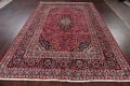 Floral Red Mashad Persian Area Rug 6x10 image 16