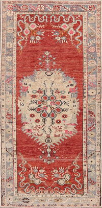 Medallion Anatolian Turkish Area Rug 3x6