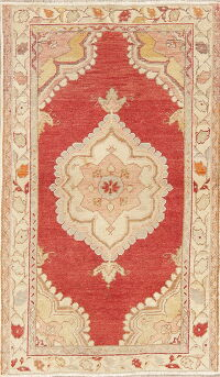Geometric Anatolian Turkish Area Rug 3x4