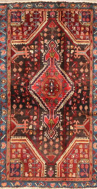 Tribal Geometric Malayer Persian Runner Rug 2x5