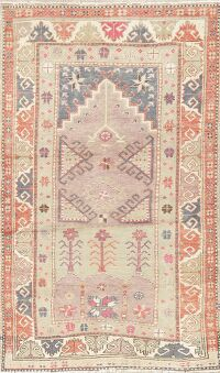 Geometric Anatolian Turkish Area Rug 3x5