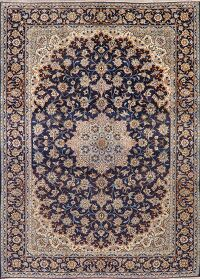 Floral Najafabad Persian Navy Blue Area Rug 10x13
