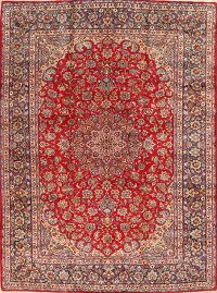 Floral Red Najafabad Persian Area Rug 10x14