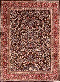 All-Over Floral Kashmar Persian Area Rug 10x13