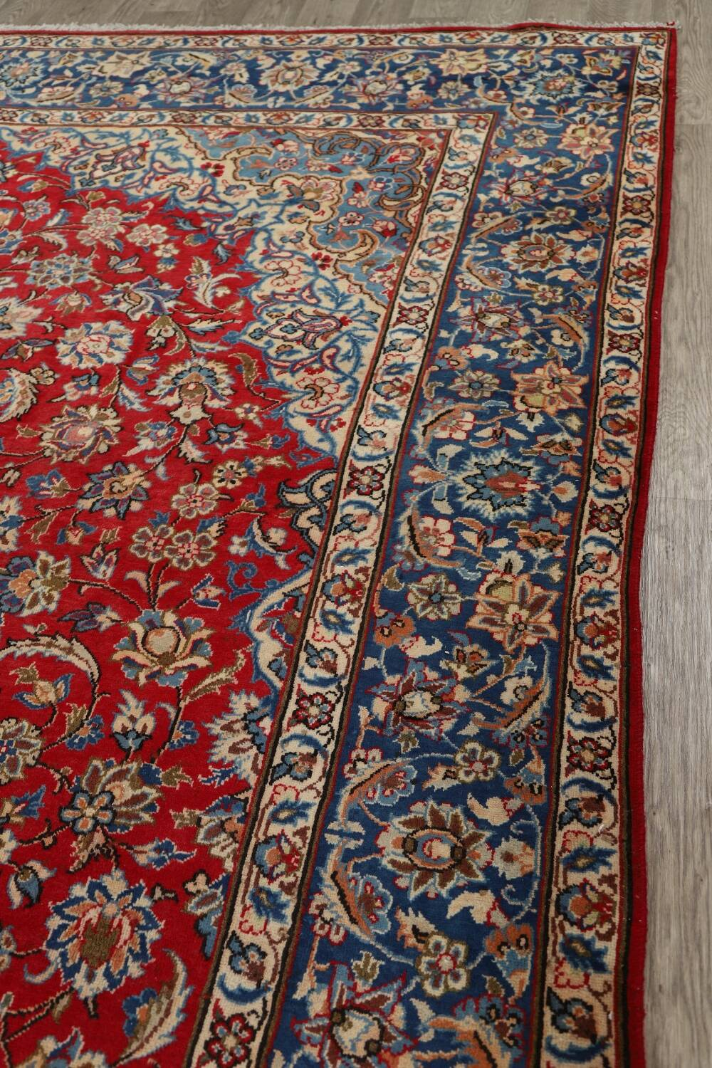10x15 Room: Vintage Floral Najafabad Persian Area Rug 10x15 Large