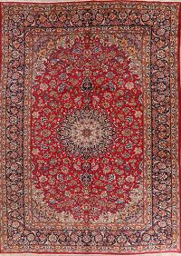 Floral Red Joshaghan Persian Area Rug 10x14