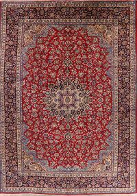 Large Floral Red Najafabad Persian Area Rug 11x15