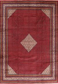 Red Boteh Botemir Persian Area Rug 8x12