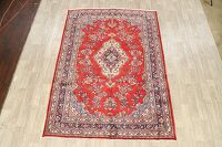 Floral Red Shahbaft Persian Area Rug 7x10