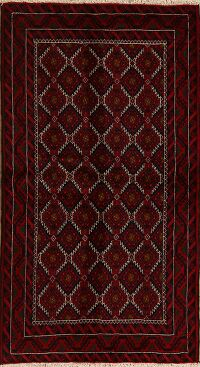 All-Over Geometric Balouch Oriental Area Rug 3x6