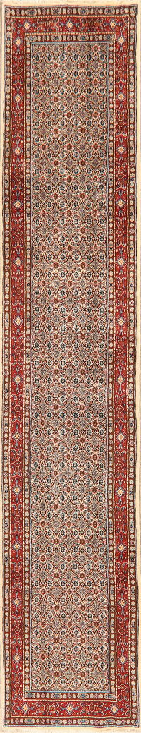 All-Over Geometric Mood Persian Runner Rug 3x13