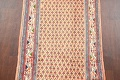 All-Over Peach Botemir Persian Runner Rug 3x14 image 4