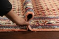 All-Over Peach Botemir Persian Runner Rug 3x14 image 16