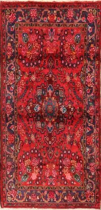 Floral Red Lilian Persian Area Rug 3x6