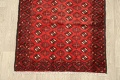 All-Over Red Geometric Balouch Persian Area Rug 4x7 image 5