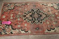 Antique Floral Mahal Persian Area Rug 3x6 image 14