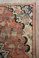Antique Floral Mahal Persian Area Rug 3x6 image 16