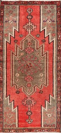 Tribal Geometric Malayer Persian Area Rug 3x6