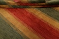 All-Over Striped Gabbeh Oriental Area Rug 9x12 image 13