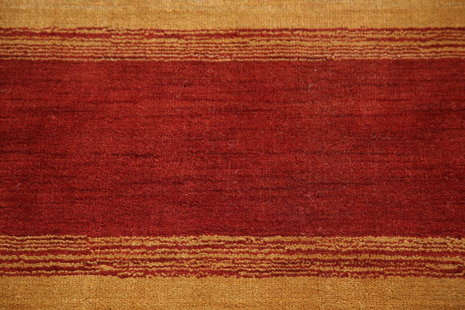 All-Over Striped Gabbeh Oriental Area Rug 9x12 image 9
