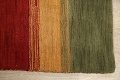 All-Over Striped Gabbeh Oriental Area Rug 9x12 image 10