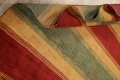 All-Over Striped Gabbeh Oriental Area Rug 9x12 image 14
