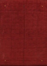 Tribal Red Gabbeh Oriental Area Rug 8x11