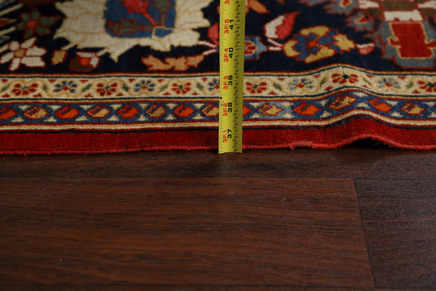 Pre-1900 Antique Sultanabad Vegetable Dye Persian Rug 11x14 image 21