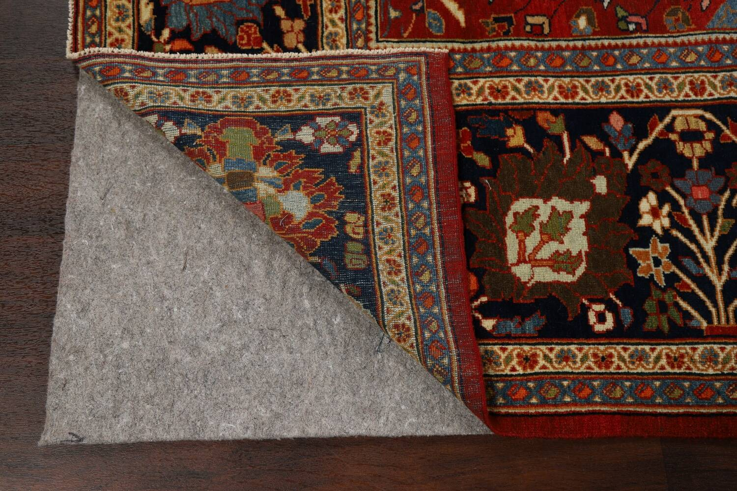 Pre-1900 Antique Sultanabad Vegetable Dye Persian Rug 11x14 image 8