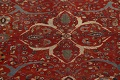Pre-1900 Antique Sultanabad Vegetable Dye Persian Rug 11x14 image 4